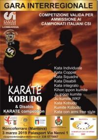 Gara Interregionale di Karate e Kobudo 2019