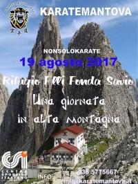 Giornata in alta montagna al Rifugio F.lli Fonda Savio
