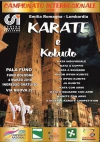 Campionato Interregionale CSI 2018 di Karate e Kobudo