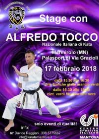 Stage di Karate Shotokan con Alfredo Tocco