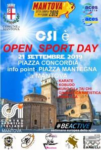 Open Sport Day a Mantova