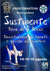 Karatemantova alla Fiera di S. Rocco a Sustinente (MN)