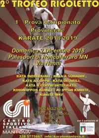 2° Trofeo Rigoletto, 1° Prova Campionato Provinciale CSI 2018/19