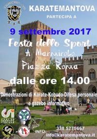 Dimostrazione di Karate e Kobudo a Marmirolo (MN)